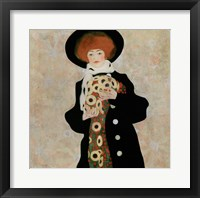 Framed Portrait Of A Woman With Black Hat (Gertrude Schiele), 1909