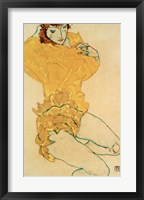 Framed Woman Undressing, 1914