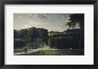 Framed Park At Saint-Cloud, 1865