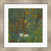 Framed Sunflowers, 1912