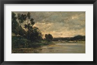 Framed Riverbank