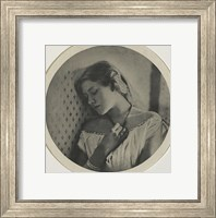 Framed Ellen Terry At The Age Of Sixteen, 1864