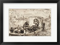 Framed Luncheon on the boat (Dejeuner en bateau)