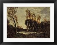 Framed Autumn Landscape