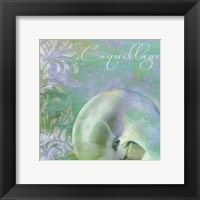 Painted Sea II Framed Print