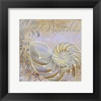Painted Sea III Framed Print