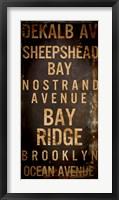 Framed Brooklyn 2