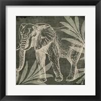 Framed Elephant 1