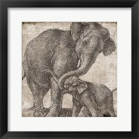 Framed Elephant 2