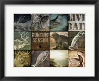 Hunting Season I Framed Print