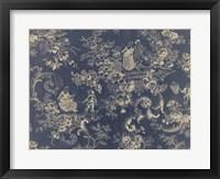 Toile Fabrics II Framed Print