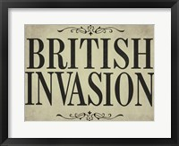 Framed British Invasion