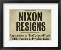 Framed Nixon