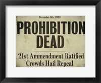 Framed Prohibition