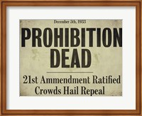 Framed Prohibition