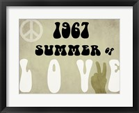 Framed Summer of Love