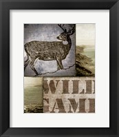 Framed Wild Game