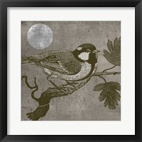 Moon Bird Framed Print