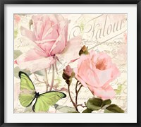 Framed Florabella III