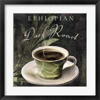 Afrikan Coffee III Framed Print
