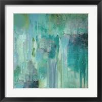 Framed Aqua Circumstance II