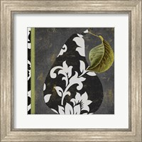 Framed Decorative Pear II
