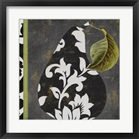 Framed Decorative Pear II