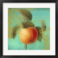 Glowing Fruits III Framed Print