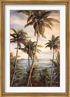 Framed Tropical Paradise I
