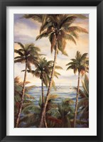 Framed Tropical Paradise I