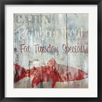 New Orleans Seafood III Framed Print