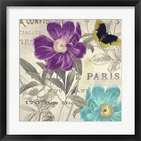 Framed Petals of Paris II