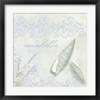 She Sells Seashells II Framed Print
