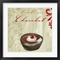 Tartes Francais, Chocolat Framed Print