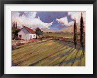 Pastoral Fields II Framed Print
