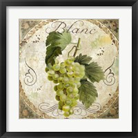 Tuscany Table Blanc Framed Print