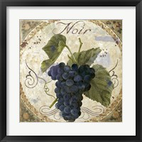 Tuscany Table Noir Framed Print