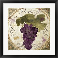 Tuscany Table Rouge Framed Print