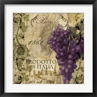 Vino Italiano II Framed Print