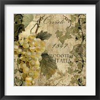 Framed Vino Italiano IV