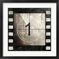 Framed Vintage Countdown I