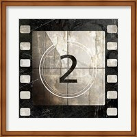 Framed Vintage Countdown II