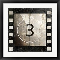 Framed Vintage Countdown III