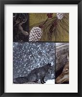 On the Hunt V Framed Print