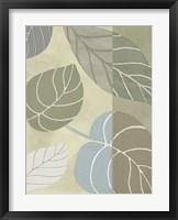 Leaf Story VI Framed Print