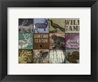 Framed Cabela hunting season 12 patch