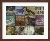 Framed Cabela hunting season 12 patch