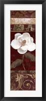 Flores Blancas I Framed Print
