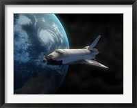 Framed Space Shuttle
