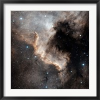 Framed North America Nebula